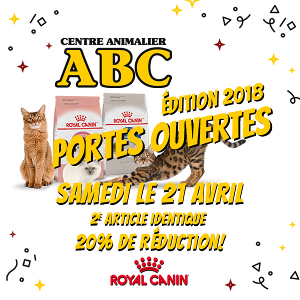 Promotion Royal Canin Animalerie ABC