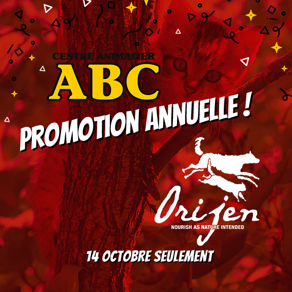 Promotion Acana & Orijen Animalerie ABC